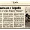 Bandiere a mezz'asta a Rapallo [il secolo XIX]