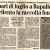 Spari di Luglio a Rapallo, a rilento la raccolta fondi [il secolo XIX]