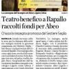 Teatro benefico a Rapallo raccolti fondi per Abeo [il secolo XIX]