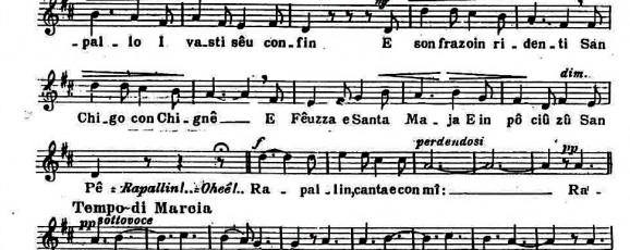 Rapallo: canzone popolare