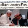 Il libro di Montallegro donato a Papa Benedetto [il secolo XIX]