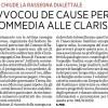 """Chiude la rassegna dialettale """"L'avvocou de cause perse"""" la commedia alle Clarisse [il secolo XIX]"""