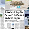 I fuochi di Rapallo &#8220;sparati&#8221; dai Sestieri anche in Puglia