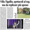 Villa Tigullio, spettacoli al top da replicare