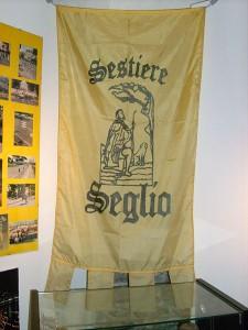 Bandiera e stemma del Sestiere Seglio