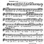 Rapallo: canzone popolare - lo spartito