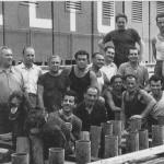 Foto storica dei Massari del Sestiere Seglio